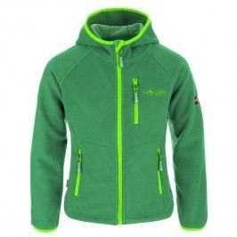 Trollkids Dětská fleecová bunda Stavanger - zelená