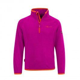 Trollkids Dívčí fleecová bunda Nordland - oranžovo-růžová