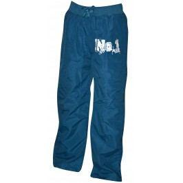 Bugga Chlapecké kalhoty No.1 s bavlněnou podšívkou - modré