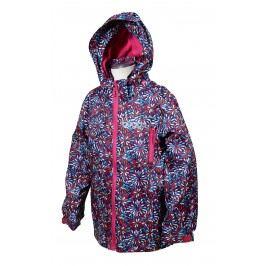 Bugga Dívčí nepromokavá bunda s podšívkou - růžová