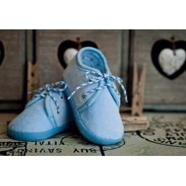 Lola Baby Chlapecké capáčky - světle modré
