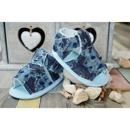 Lola Baby Dětské sandálky - modré