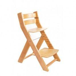 WOOD PARTNER Rostoucí židle MONY natur lak - natur