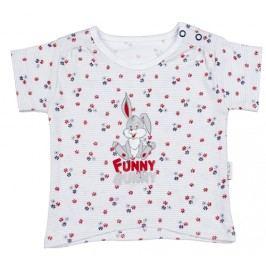 Mamatti Dívčí tričko skrálíčkem - barevné