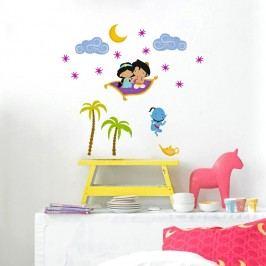 Mr. FOX Samolepka na zeď Aladdin, 29,7x42 cm