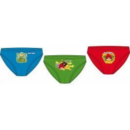 E plus M Chlapecká sada 3ks slipů Angry Birds - barevná