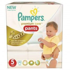 Pampers Premium Care Pants 5 Junior 12-18kg, 20ks kalhotkové pleny