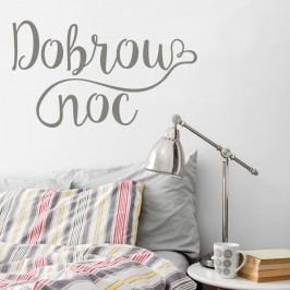 Housedecor Samolepka na zeď - Dobrou noc