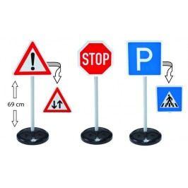 BIG Dopravní značky BIG, velká sada (5 typů)