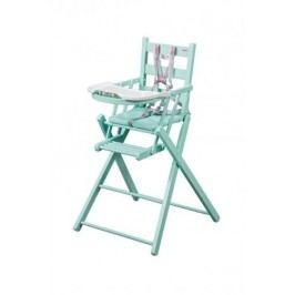 Combelle Skládací jídelní židlička, zelená