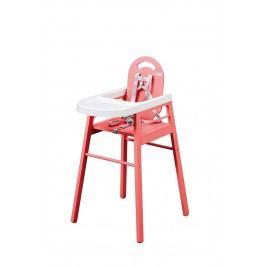 Combelle Jídelní židlička Lili, růžová