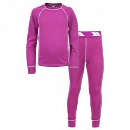 Trespass Dívčí funkční prádlo Mika - fuchsiové