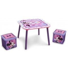 Delta Dětský stůl s taburety Minnie