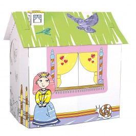 Bino Karton. domek pro princeznu