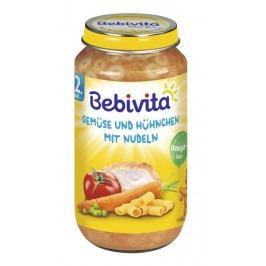 Bebivita Zelenina a kuřecí maso s nudlemi 6x250g