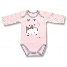 Lafel Dívčí body Cat - růžové