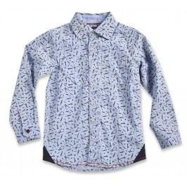 Blue Seven Chlapecká košile s nářadím - světle modrá