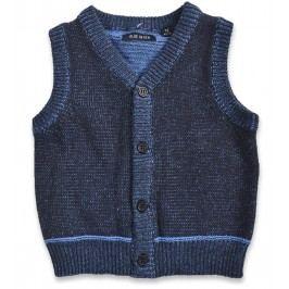 Blue Seven Chapecká vesta - modrá