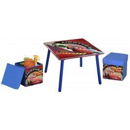 Delta Dětský stůl s taburety Cars