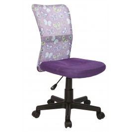 Halmar Dětská židle Dingo - fialová