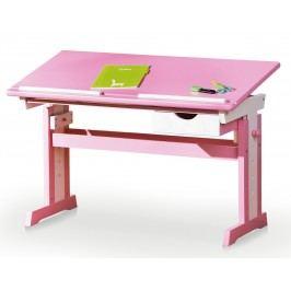 Halmar Dětský rostoucí stůl Cecilia - růžový