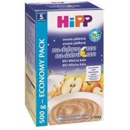 HiPP BIO Mléčná kaše na dobrou noc ovesná-jablečná