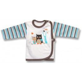 Lafel Chlapecký zavinovací kabátek Sova - barevný