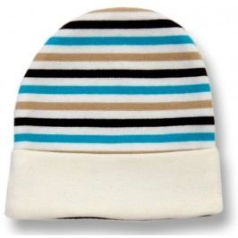 Lafel Chlapecká proužkovaná čepice Sova - barevná