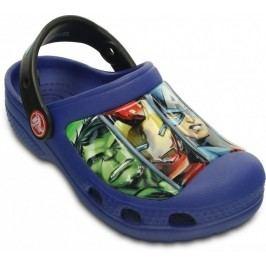 Crocs Chlapecké sandály Creative Crocs Avengers - modré