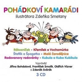 Supraphon Pohádkoví kamarádi - 3 CD