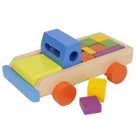 Simba Dřevěné kostky auto