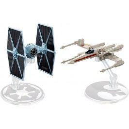 MATTEL Hot Wheels Star Wars Hvězdná loď, 2 ks