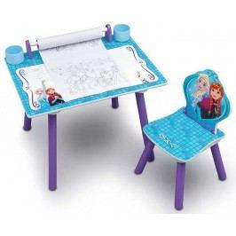 Delta Dětský kreslící stůl Frozen - fialovo-modrý