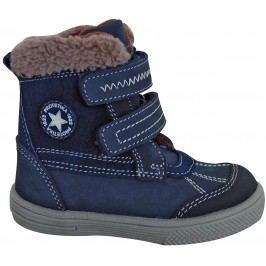 Protetika Chlapecké zimní boty Frenk - tmavě modré