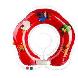 Plavací nákrčník Flipper červený