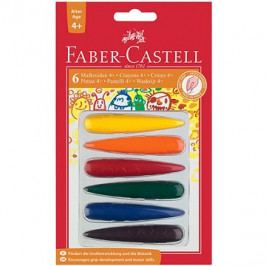 Faber-Castell Plastové Pastelky do dlaně, 6 Barev
