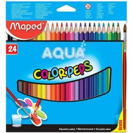Maped Color Peps Aqua, 24 barev