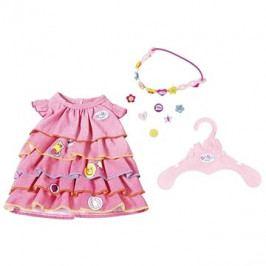BABY Born Letní šatičky s nacvakávacími ozdobami
