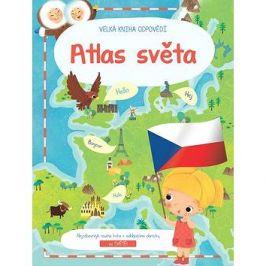 Velká kniha odpovědí Atlas světa XL