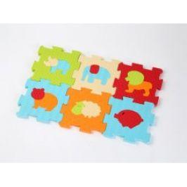 Ludi Puzzle pěnové 46,5 x 31,5 cm zvířátka