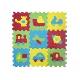 Ludi Puzzle pěnové 84 x 84 cm dopravní prostředky