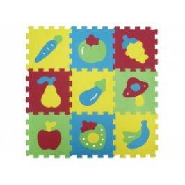 Ludi Puzzle pěnové 84 x 84 cm ovoce a zelenina