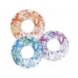 INTEX 59251 Kruh plovací Květiny 91 cm