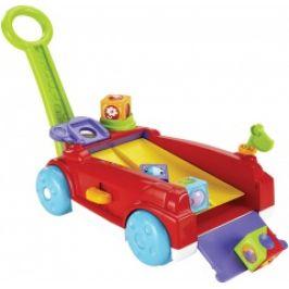 Fisher Price vozík s kostkami