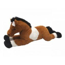 Mac Toys Kůň bílo hnědý 80 cm