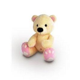 Medvěd Pupík 60cm, béžovo-růžový