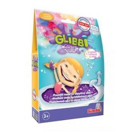 Glibbi Glitter Slime sliz fialový třpytivý