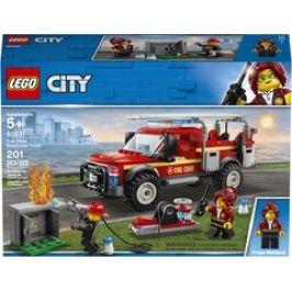 LEGO City 60231 Town Zásahový vůz velitelky hasičů