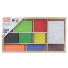 Viga Dřevěné matematické kostky