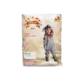 MaDe Šaty na karneval - slon 92 - 104 cm